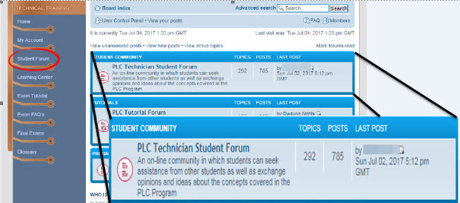 How to Use the GBC Online Student Forums | GBC Online