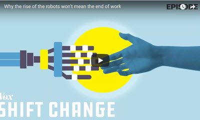 Why the rise of the robots won't mean the end of work