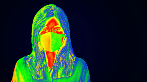 Thermal Imaging Detecting Elevated Body Temperature